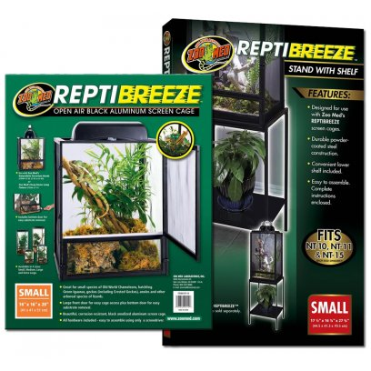 Zoo Med ReptiBreeze Screen Cage Small & Stand