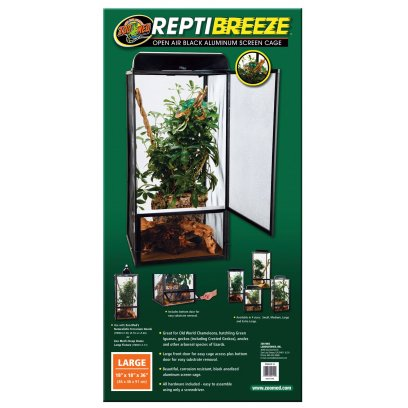 Zoo Med ReptiBreeze Screen Cage 46x46x92cm