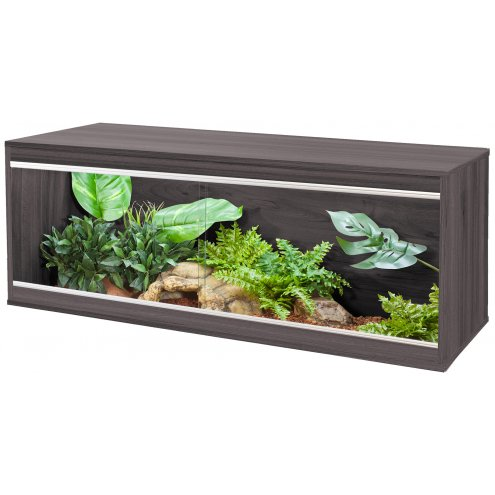 Vivexotic Repti-Home Vivarium - Large Grey 115x37.5x42cm