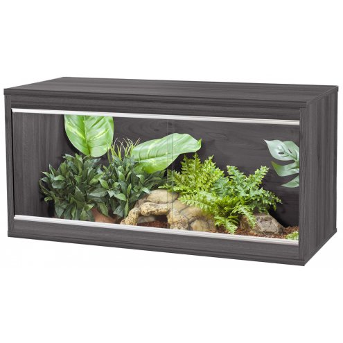 Vivexotic Repti-Home Vivarium - Medium Grey 86x37.5x42cm