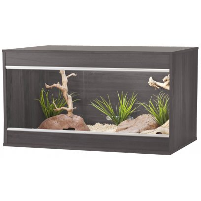 Vivexotic Repti-Home Vivarium - Maxi Medium Grey 86x49x56cm