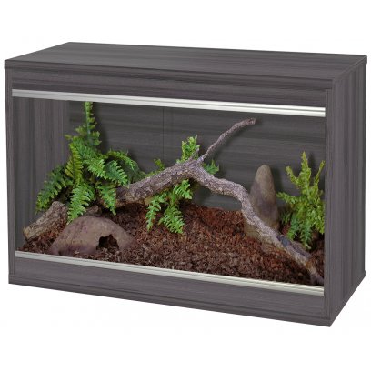 Vivexotic Repti-Home Vivarium - Small Grey 57.5x37.5x42cm