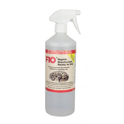 F10 Reptile Ready to Use Disinfectant 1 Litre Trigger