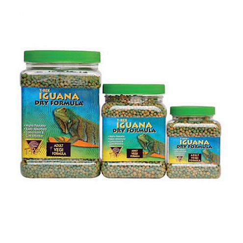 T-Rex Iguana Food Vegi Adult 340g