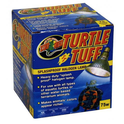 Zoo Med Turtle Tuff Halogen Lamp 75W
