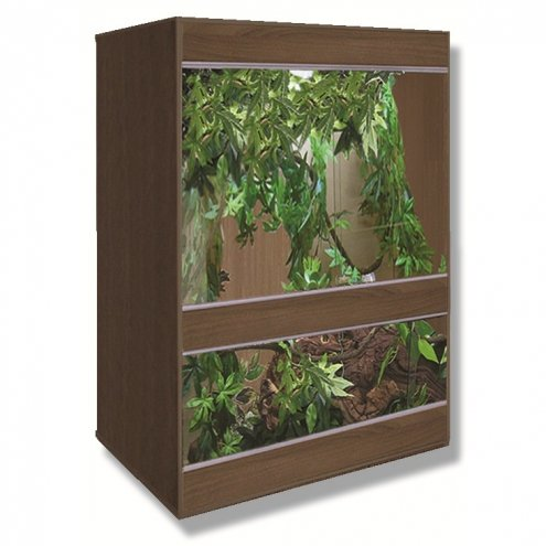 Vivexotic Tobacco Walnut AX36 Vivarium 915x610x1216mm