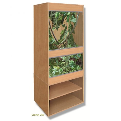 Vivexotic Ellmau Beech CAX24 Cabinet for AX24 Vivarium 587x610x622mm
