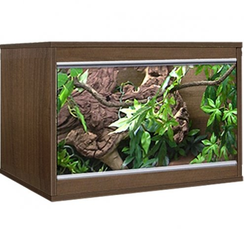 Vivexotic Tobacco Walnut LX24 Vivarium 587x375x405mm