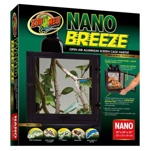 Zoo Med NanoBreeze Screen Cage 30x30x30cm