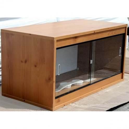 Pine Ready Built Vivarium 460x380x380mm