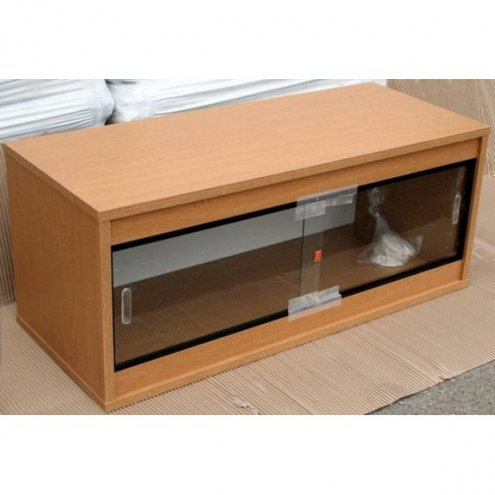 Oak Ready Built Vivarium 24x15x15in