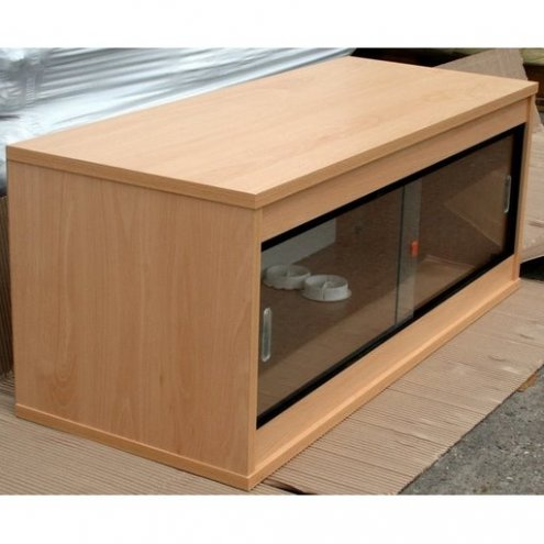 Beech Ready Built Vivarium 48x18x18in