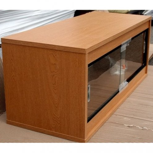 Oak Ready Built Vivarium 48x24x24in