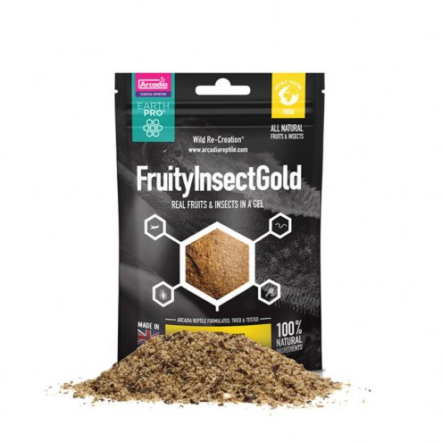 Arcadia EarthPro JellyPot FruityInsect Gold 50g