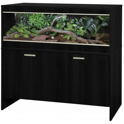 Vivexotic Repti-Home Vivarium & Cabinet - Maxi Large Black