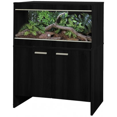 Vivexotic Repti-Home Vivarium & Cabinet - Maxi Medium Black
