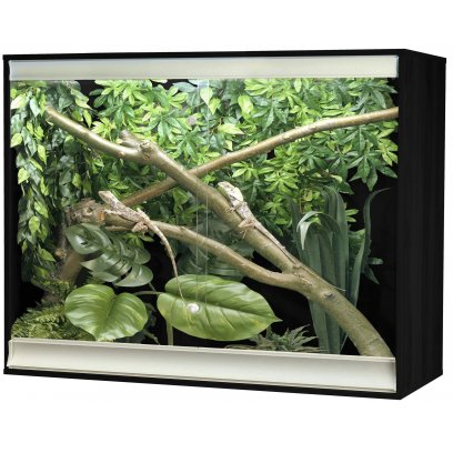 Vivexotic Viva+ Arboreal Vivarium - Large-Deep Black 115x61x91.5cm