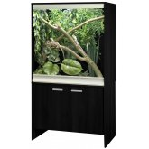 Vivexotic Viva+ Arboreal Vivarium & Cabinet - Medium Black