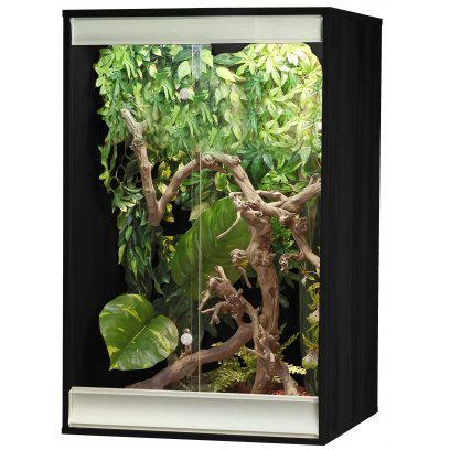 Vivexotic Viva+ Arboreal Vivarium - Small Black 57.5x49x91.5cm
