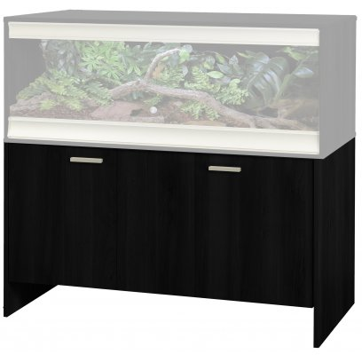 Vivexotic Cabinet - Large-Deep Black 115x61x64.5cm