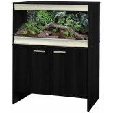 Vivexotic Viva+ Terrestrial Vivarium & Cabinet - Medium Black