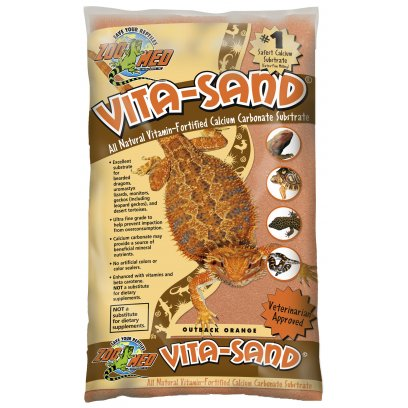 Zoo Med Vita-Sand Outback Orange 4.5Kg
