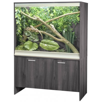 Vivexotic Viva+ Arboreal Vivarium & Cabinet - Large-Deep Grey