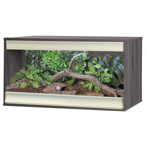 Vivexotic Viva+ Terrestrial Vivarium - Medium Grey 86x49x50cm