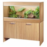 Vivexotic Repti-Home Vivarium & Cabinet - Extra Large Maxi Oak