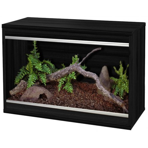 Vivexotic Repti-Home Vivarium - Small Black 57.5x37.5x42cm