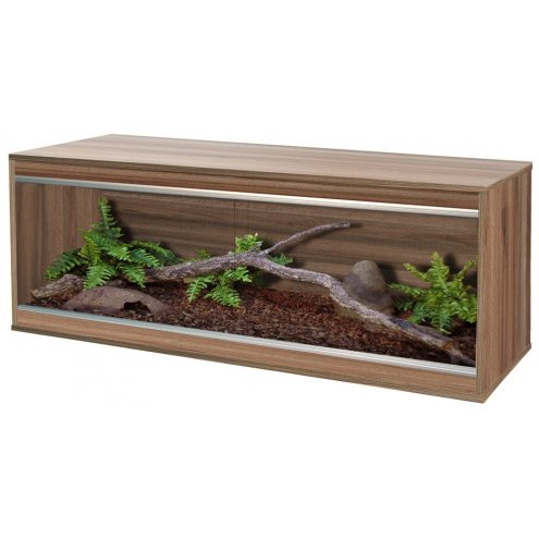 Vivexotic Repti-Home Vivarium - Maxi Extra Large Walnut 137.5x49x56cm