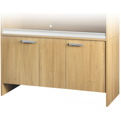 Vivexotic Cabinet - Large-Deep Oak 115x61x64.5cm