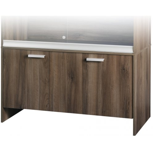 Vivexotic Cabinet - Large-Deep Walnut 115x61x64.5cm