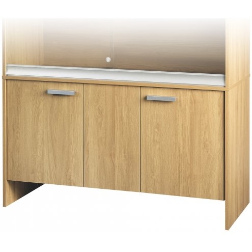 Vivexotic Cabinet - Large Oak 115x49x64.5cm
