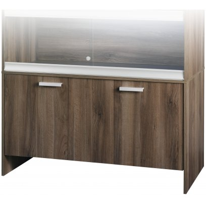 Vivexotic Cabinet - Large Walnut 115x49x64.5cm