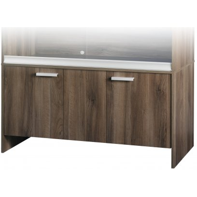 Vivexotic Cabinet - Maxi Extra-Large Walnut 137.5 x 49 x 64.5cm
