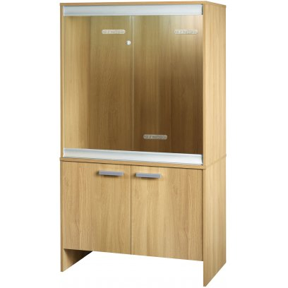 Vivexotic Viva+ Arboreal Vivarium & Cabinet - Medium Oak