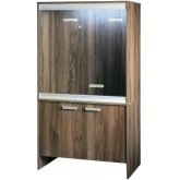 Vivexotic Viva+ Arboreal Vivarium & Cabinet - Medium Walnut