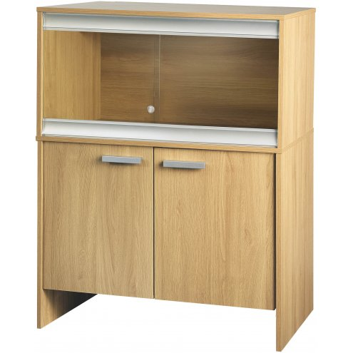 Vivexotic Viva+ Terrestrial Vivarium & Cabinet - Medium Oak