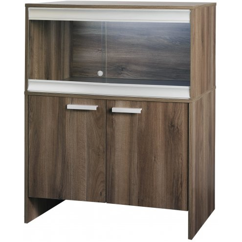 Vivexotic Viva+ Terrestrial Vivarium & Cabinet - Medium Walnut