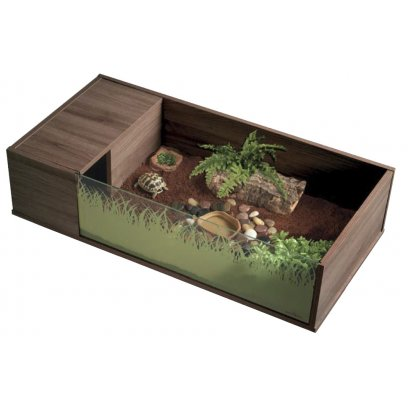 Vivexotic Viva Tortoise Table - Walnut 90x45x21.5cm