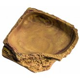 Lucky Reptile Corner Dish Sandstone - Large