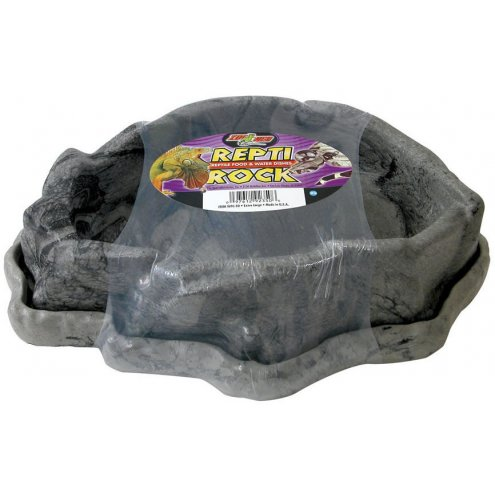 Zoo Med Repti Rock Food & Water Dishes X-Large