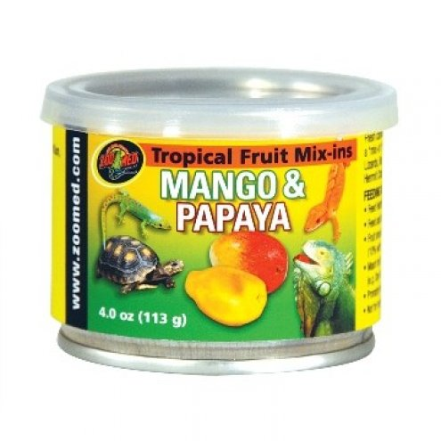 Zoo Med Tropical Fruit Mix-in Mango and Papaya 113g