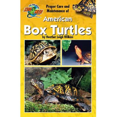 Zoo Med Poper Care of American Box Turtles