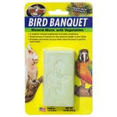 Zoo Med Bird Banquet Mineral Block Vegetable 142g