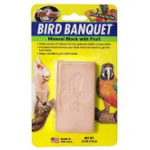 Zoo Med Bird Banquet Mineral Block Fruit 142g