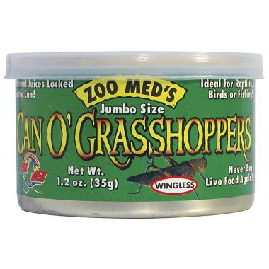 Zoo Med Can O' Grasshoppers 35g