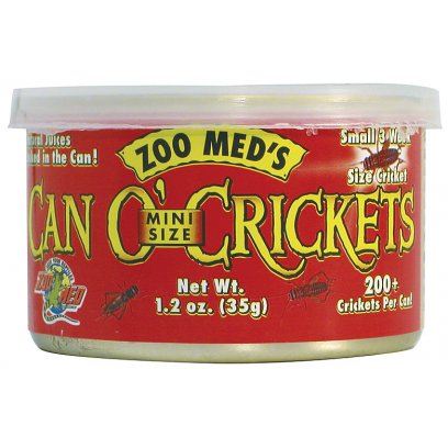 Zoo Med Can O' Mini-Cricket 35g