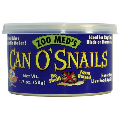 Zoo Med Can O' Snails 50g